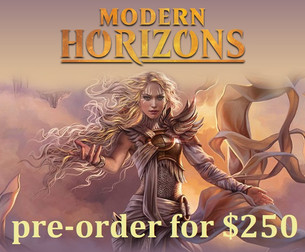 Pre-order your Modern Horizons booster box today!