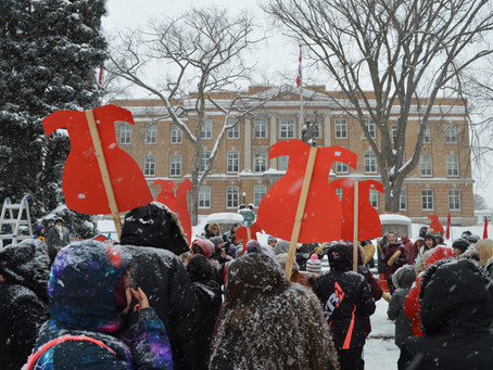 Resilience and Resistance: The 12th Annual Memorial March for Missing and Murdered Indigenous Women