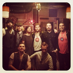 Rival Sons video shoot
