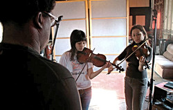 Ikey Owens directs strings