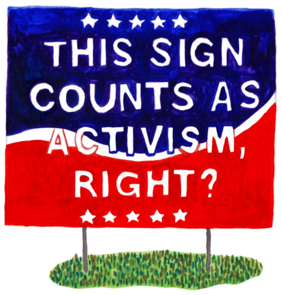What Your Yard Sign Really Says