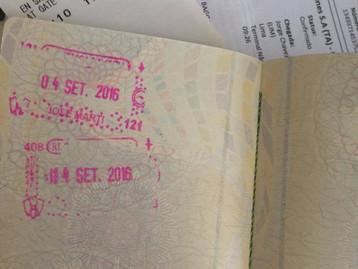 Carimbo garantido no passaporte!