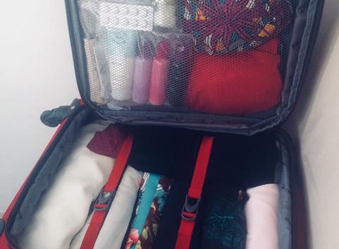 Escolher e organizar a mala: um dilema!