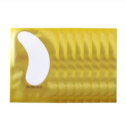 Gold Curve Hydrogel Pads