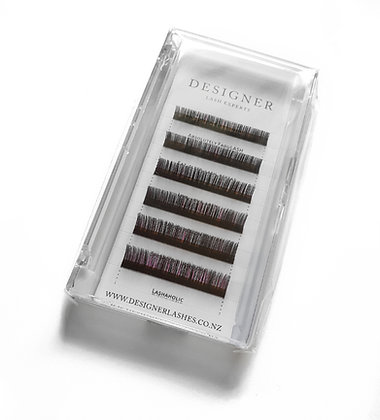 Designer Lashes - Purple/Black