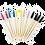 Thumbnail: Bamboo Mascara Brush x 50
