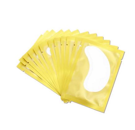 Gold Curve Hydrogel Pads