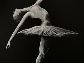 Ballerina på utstilling