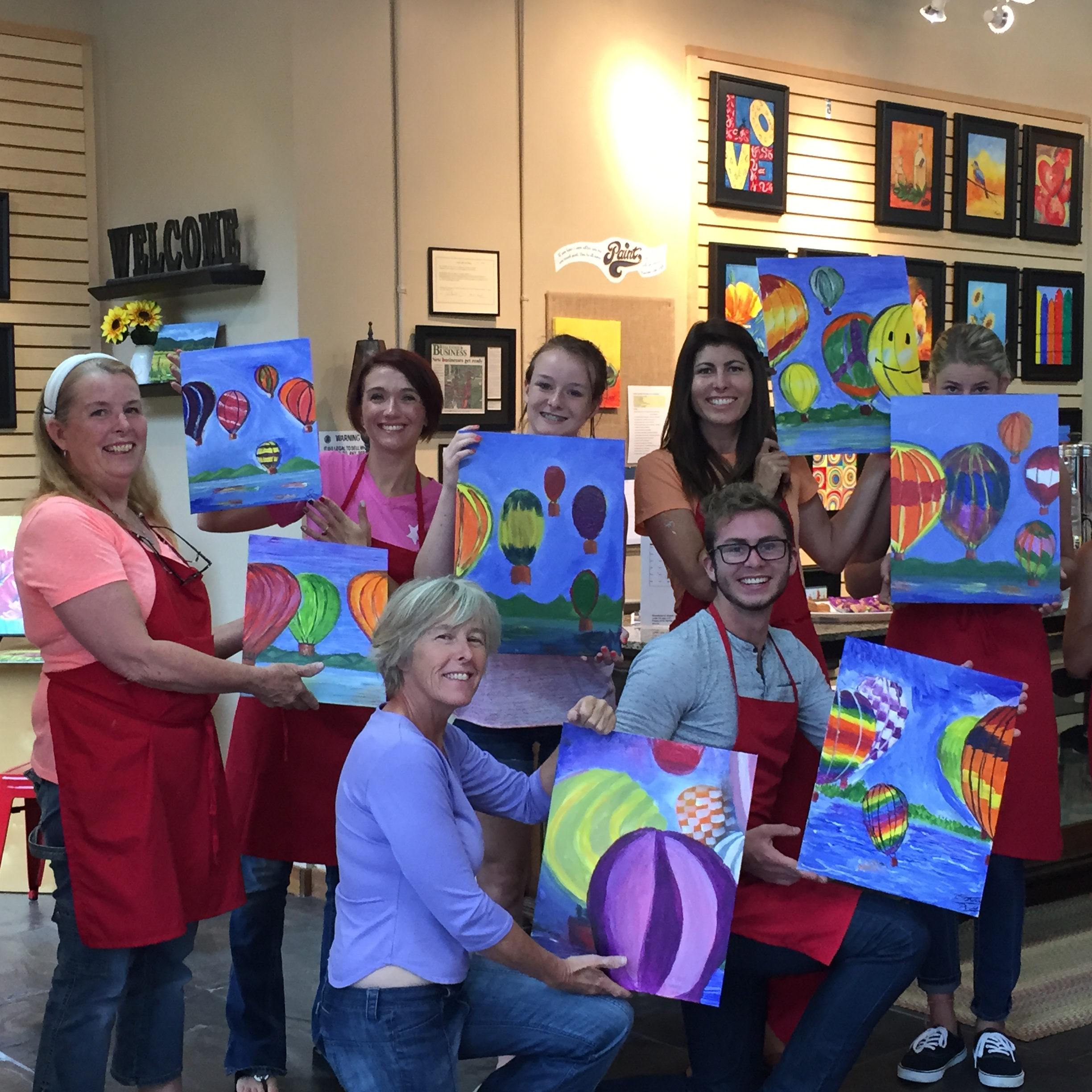 Steamboat Art Strokes Event