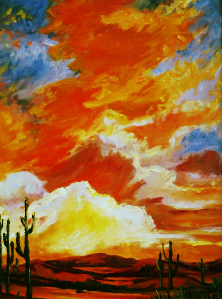 Majestic Sunset Arizona