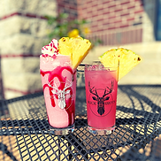 Pineapple Raspberry Cooler and Vodka 108