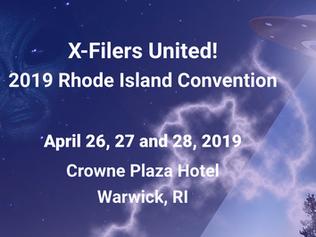 Joshua Cutchin at X-Filers United! 2019 Conference in Warwick, RI!
