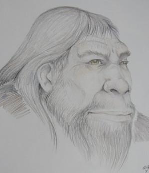 Sketch by Harvey Pratt