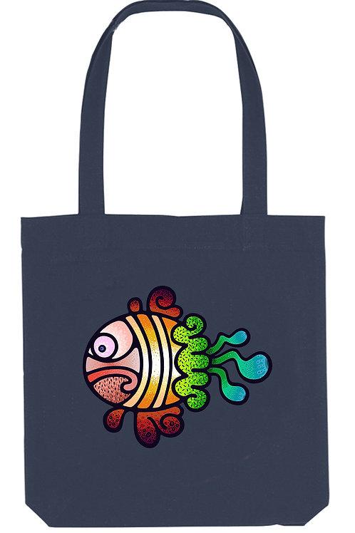 Cedric The Fish - (Tote Bag)