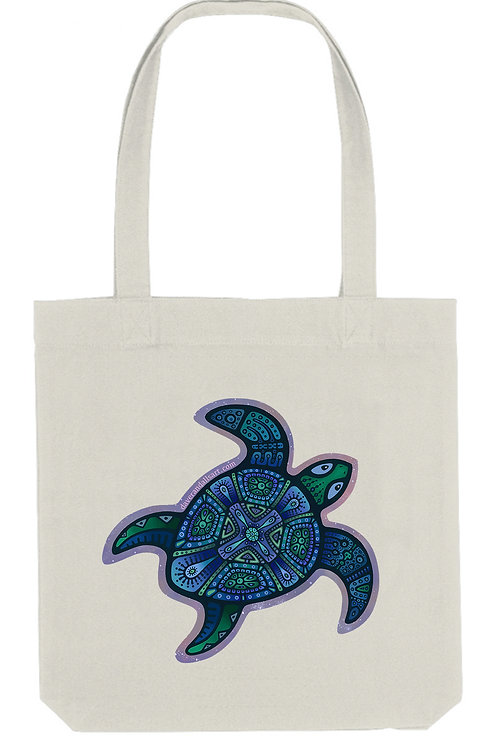 Cosmic Turtle - (Tote Bag)