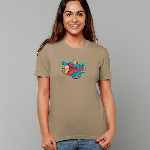 Emily (The Party Fish) - (Organic T-Shirt)