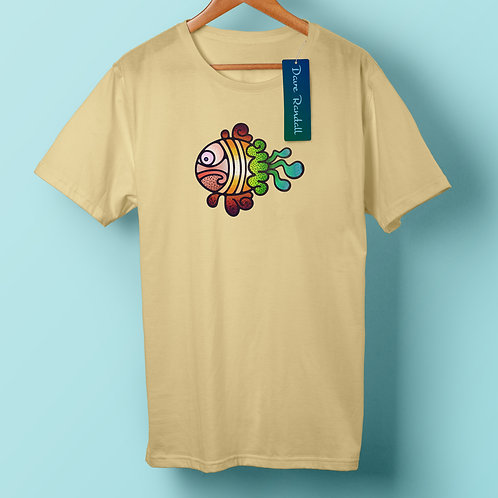 Cedric the Fish - (Organic T-Shirt)