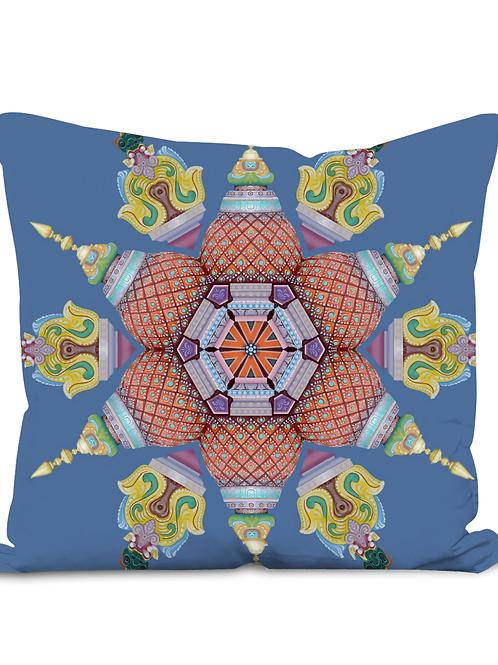Sri Kolluru Temple - (Throw Cushion)
