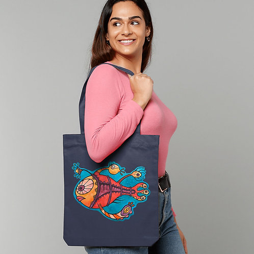 Emily (The Party Fish) - (Tote Bag)