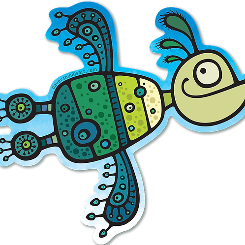 Dooda Love Bird - (Vinyl Sticker)