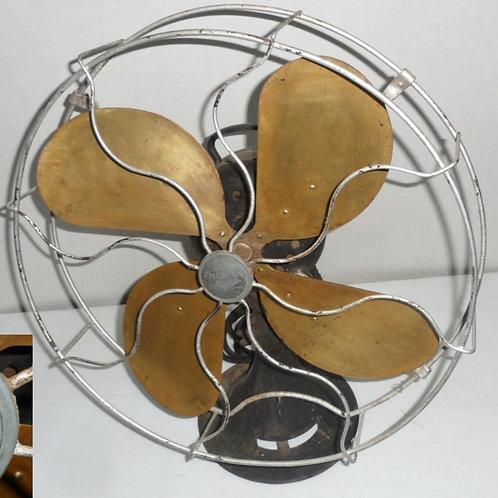 4 Brass Blade Emerson Fan Model 29648 Works