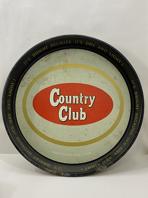 1950s Country Club Beer Tray