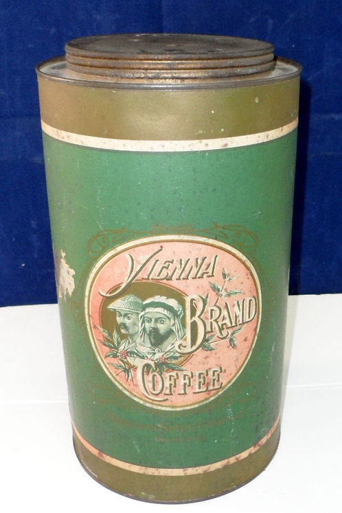 Vienna Brand Coffee Tin