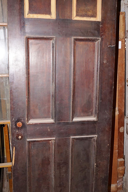 Double Wooden French Door