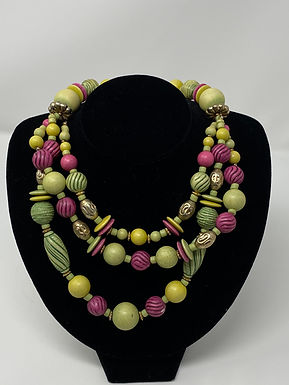 3-Strand Necklace with Lobster Clasp
