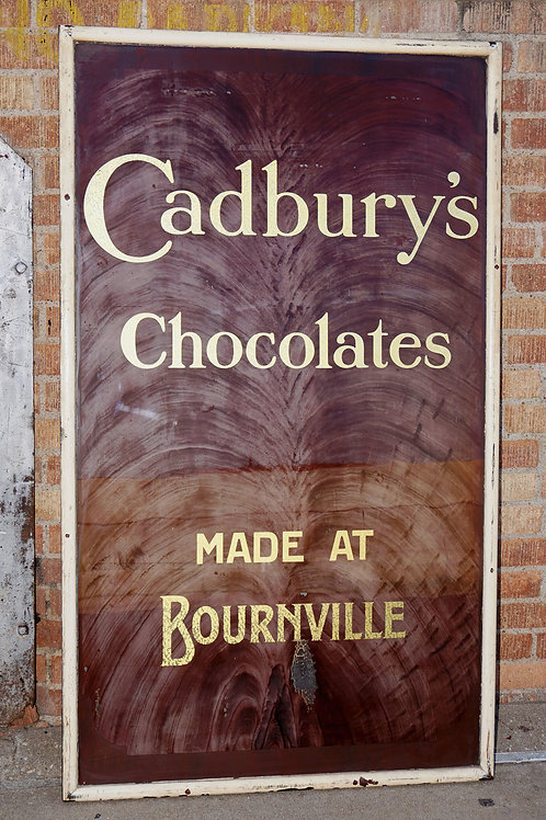 Cadbury's Chocolates Sign