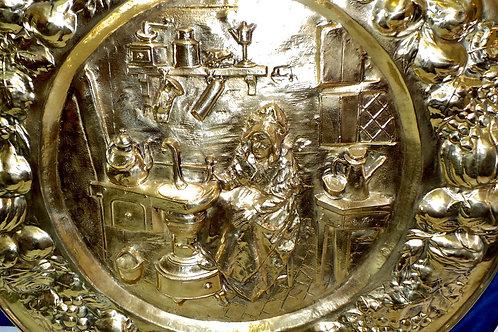 Brass Embossed Art