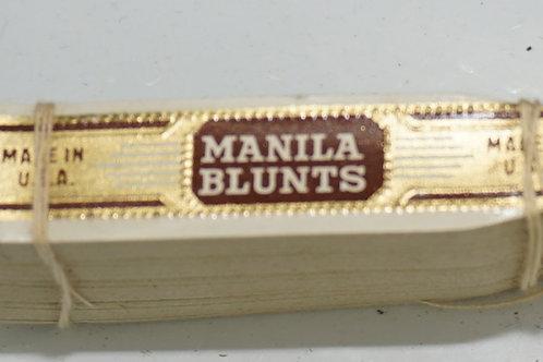 Lot of Manila Blunt Cigar Labels Ca 1960s