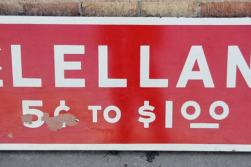 Mclellan's Porcelain Sign
