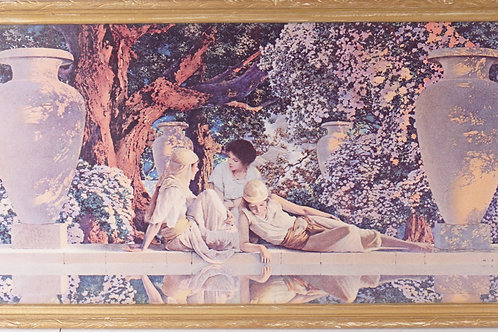 1918 Maxfield Parrish Print The Garden Of Allah
