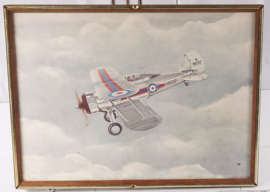 Airplane Framed Picture