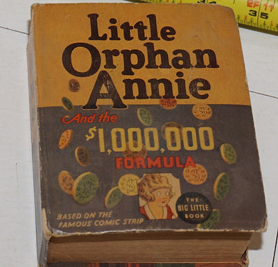 The Big Little Book - Little Orphan Annie And The 1,000,000