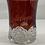 Thumbnail: 1906 Ruby Red Souvenir Glass