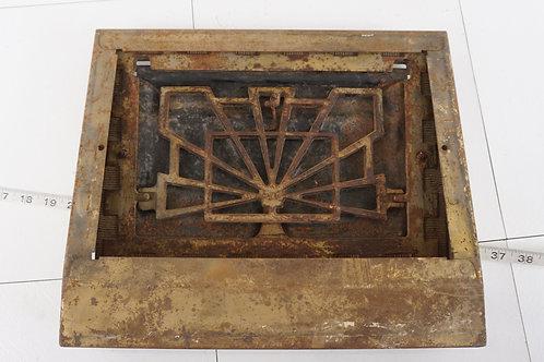 Cast Iron Grate Ca 1910s