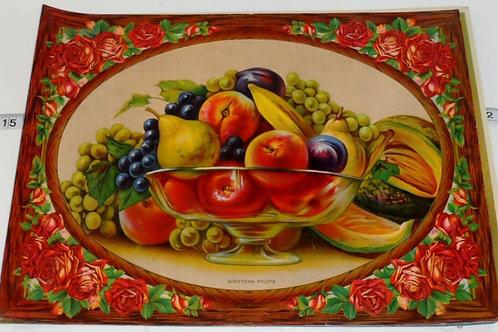 Print Fruit Motif