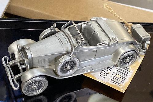 """1927 Lincoln Sportster"" Pewter Model Cars"
