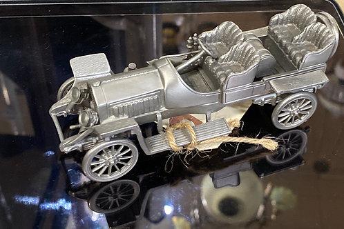 """1907 Thomas Flyer"" Pewter Model Cars"