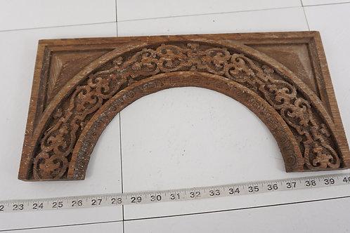Hand Carved Oak Crown