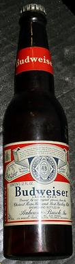 Budweiser Beer Advertising Display Bottle