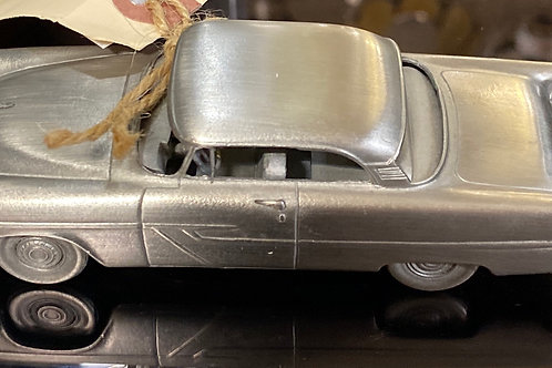 """""""1955 Plymouth Belvedere"""" Pewter Model Car Made in England"""