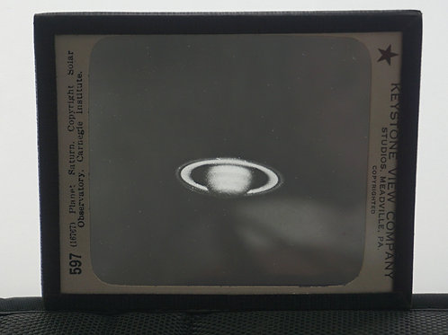 Slide of Saturn by Keystone View Co