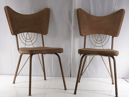 Pair Brody Chairs by Brody Seating Co