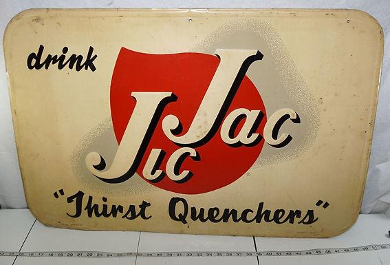 1930s Drink Jic Jac Advertising Sign