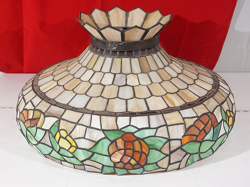 Early 1900s Stained Glass Shade