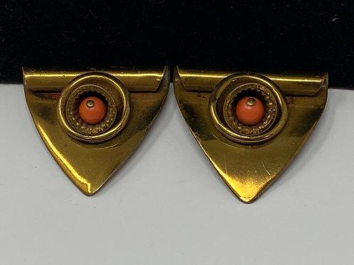Pair of Brass Dress Shoe Clips