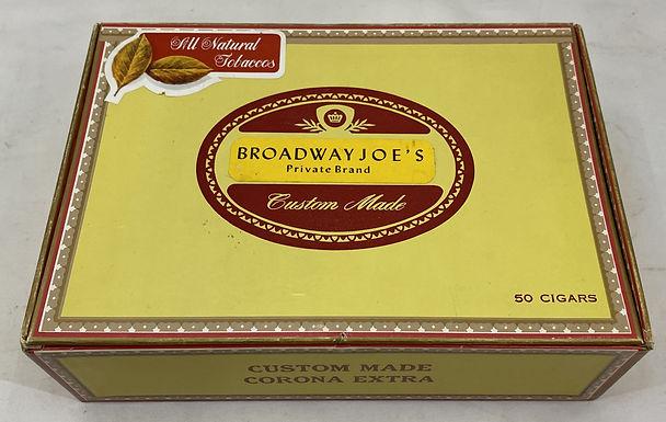 Broadway Joe's Cigar Box